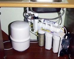 Установка фильтра очистки воды в Екатеринбурге, подключение фильтра очистки воды в г.Екатеринбург